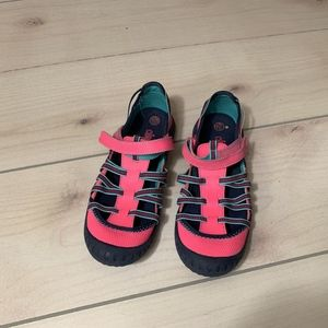 girls L circo outdoor water shoe pink